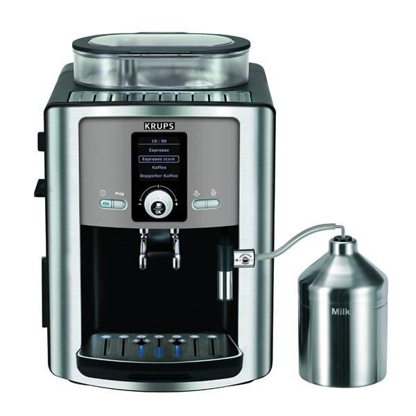 Espresso Krups Espresseria Automatic EA8050PE recenze a test
