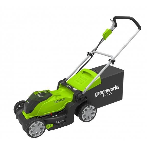 Greenworks G40LM41 recenze