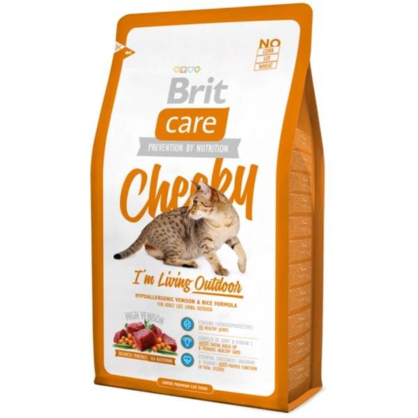 Brit Care Cat Cheeky Outdoor recenze