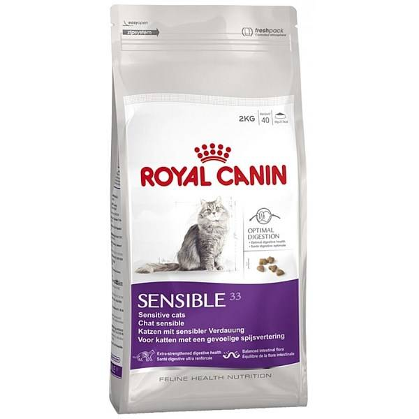 Royal Canin Sensible recenze