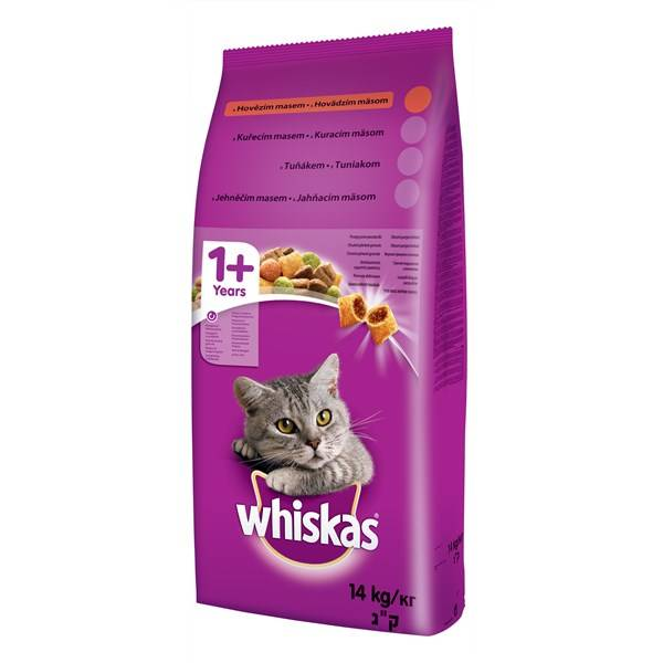 Whiskas Cat Adult recenze