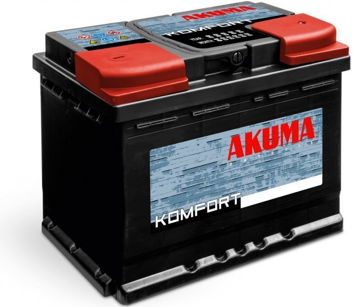 Akuma Komfort 12V 95Ah 850A recenze