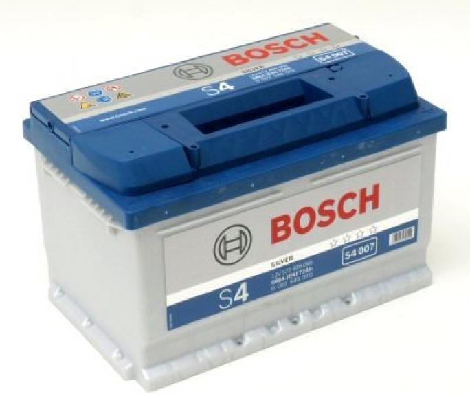 Bosch S4 12V 74Ah 680A recenze