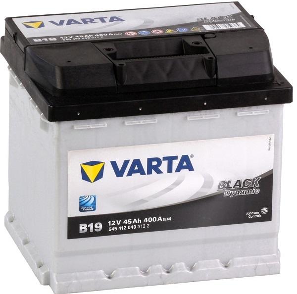 Varta Black Dynamic 12V 45Ah 400A recenze