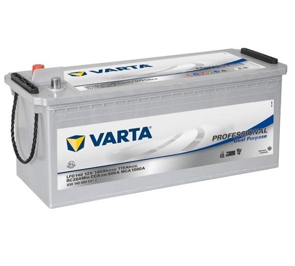 Varta Professional DC 12V 140Ah 800A recenze