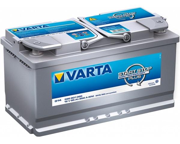 Varta Start-Stop Plus 12V 95Ah 850A recenze