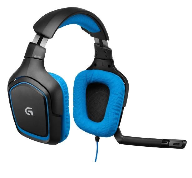 Logitech Gaming Headset-G430 recenze