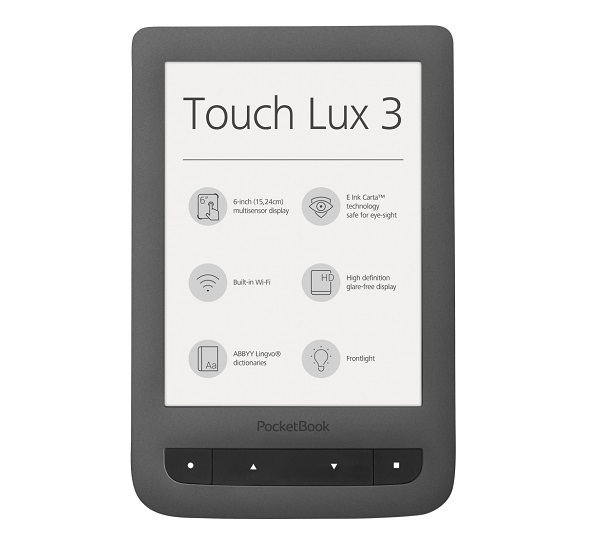 PocketBook 626 Touch Lux 3 recenze