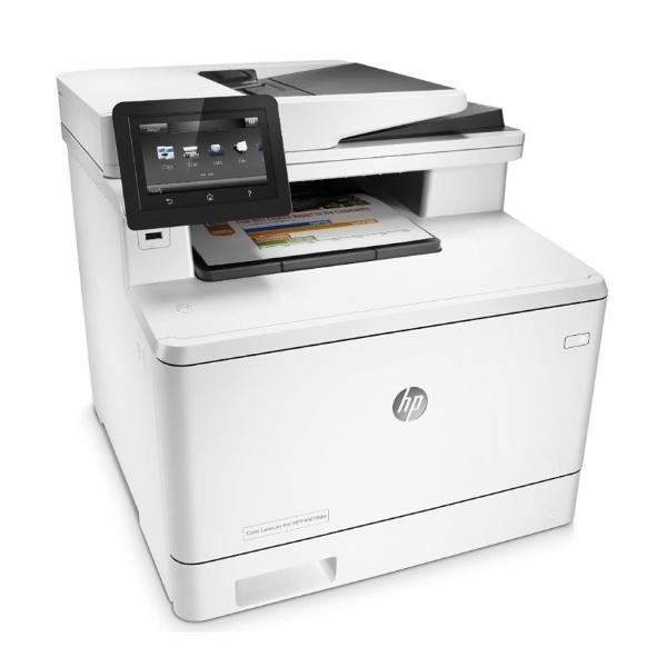 HP Color LaserJet-Pro M477fdw recenze