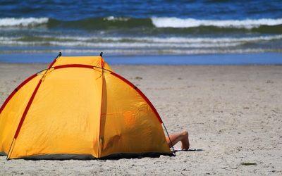 plážový stan