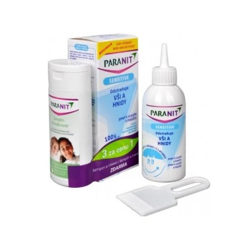 Paranit Sensitive Lotion recenze a test