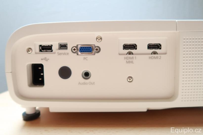Epson EH-TW5650 konektivita