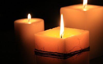 vonná svíčka