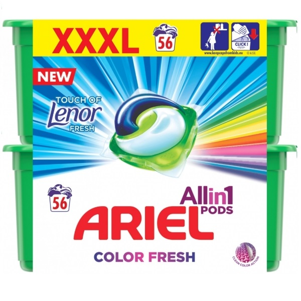 ARIEL Touch of Lenor Fresh All in 1 recenze a test