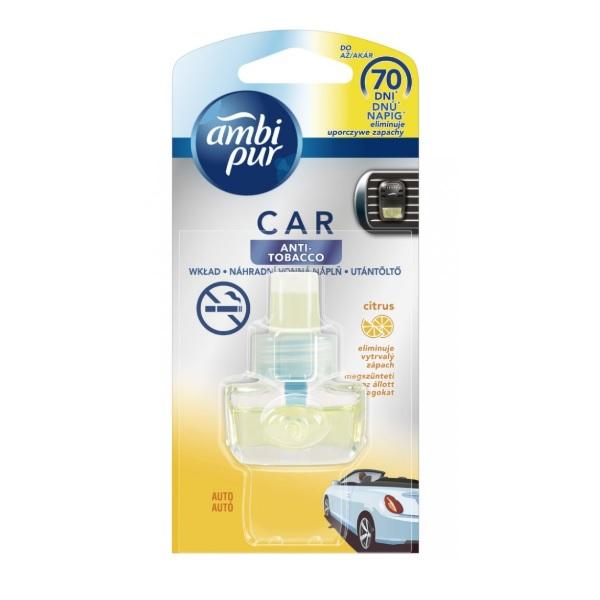Ambi Pur Car Anti Tobacco recenze a test