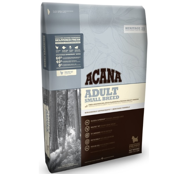 Acana Dog Adult Small Breed Heritage recenze
