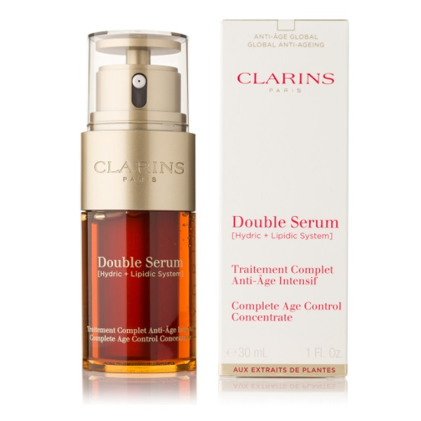 Clarins Double Serum Complete Age Control recenze a test